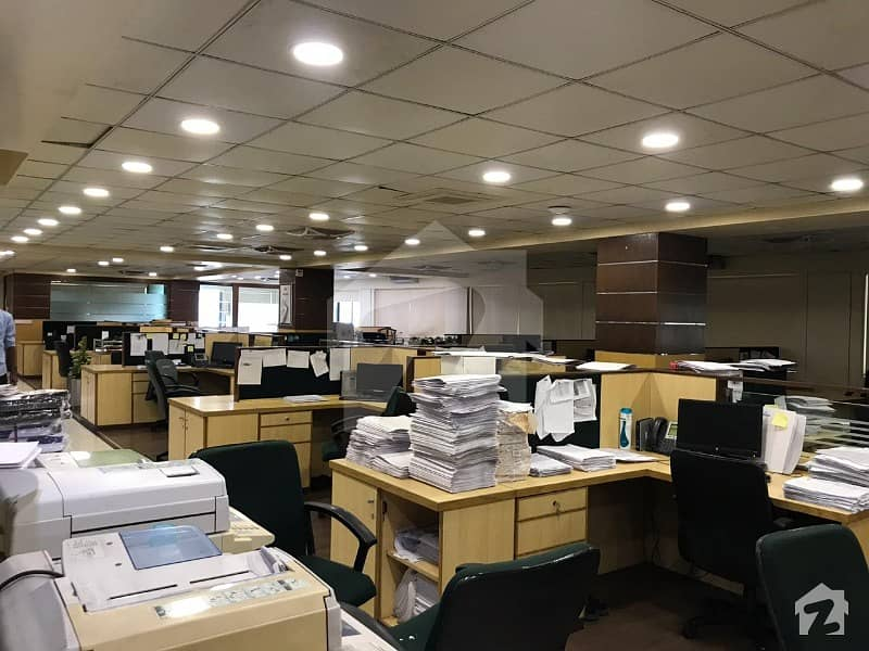 10000 Sqft Fully Furnished Office Space On Rent In Clifton