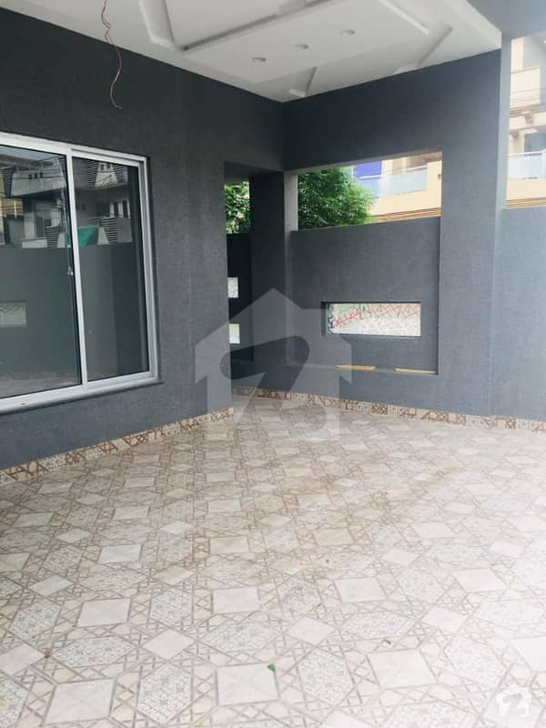 10 Marla Brand New Lower Portion Is For Rent In Wapda Town Housing Society Lahore Phase 1 E2 Block