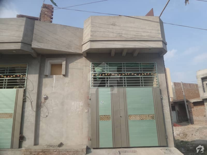 Well-Built House Available in Good Location Moez Garden Satiana Road