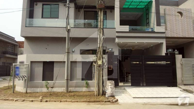 5 Marla Courner House For Sale In A Block Of State Life Phase 1 Lahore