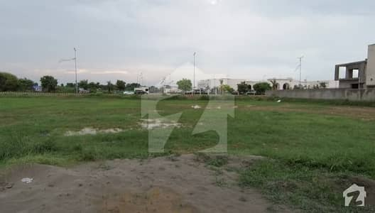 One Kanal Ideal Plot Back Of 150 Feet Road
