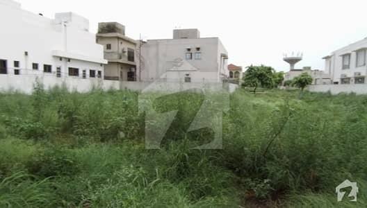 D Block 37 Marla Corner Plot For Sale Phase 6 Dha Lahore