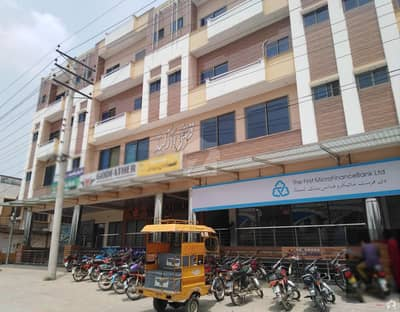 3 Marla Flat For Rent In Qureshi Arched Plaza Main Road Khushab Road Sargodha