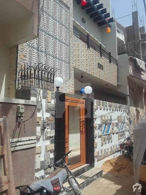 لانڈھی کراچی میں 2 کمروں کا 3 مرلہ مکان 85 لاکھ میں برائے فروخت۔