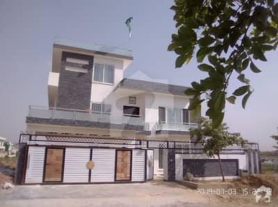 One Kanal  Newly Built Elegant House E-16/3 For Sale On Investor Rate