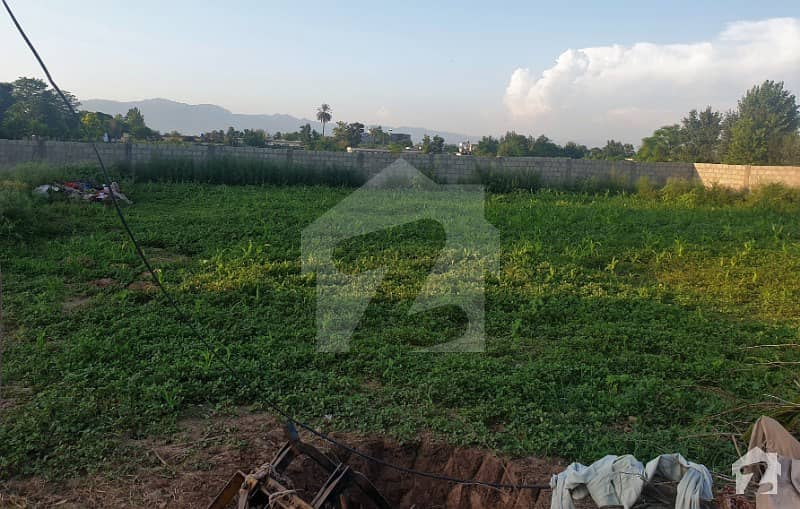 20 Kanal Land Is Available For Sale For Farm House 2 Sided Corner
