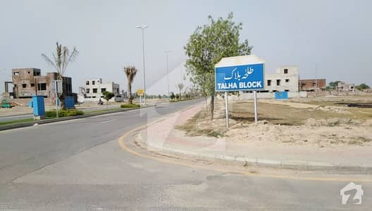 Fully Developed 10 Marla Plot For Sale In Talha Block Sector E Bahria Town Lahore