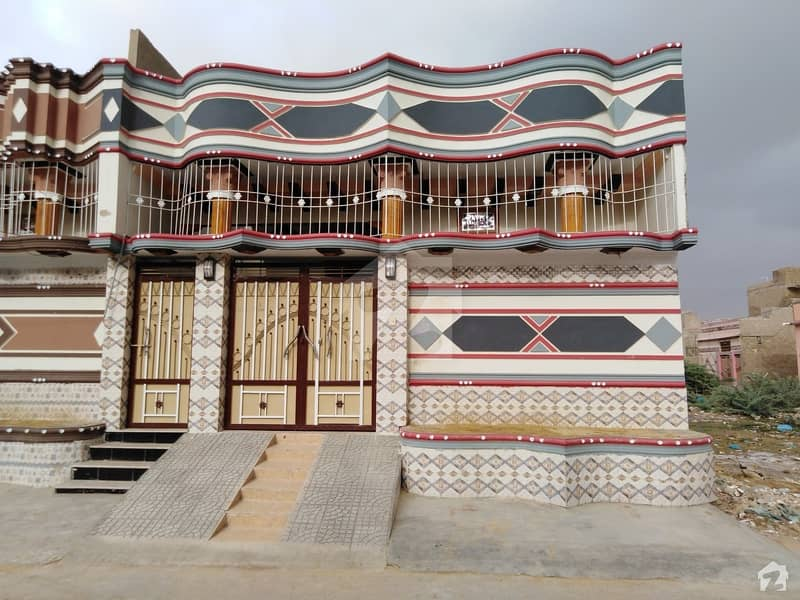 Single Storey Brand New House Is Available For Sale In Surjani Town