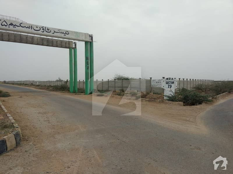 60 Feet Main Road 80 Sq Yards Plot For Sale