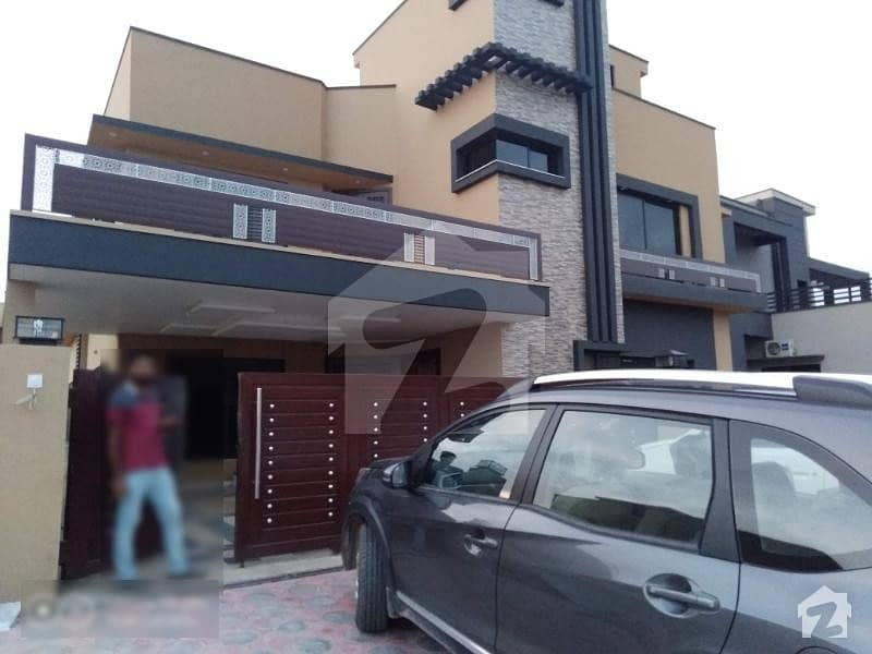 Brand New Ground Portion For Rent In E Block Phase 8 Bahria Town Rawalpindi