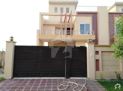 10 Marla Brand New House For Sale  At Prime Location Wapda Town