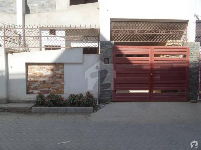 Double Storey Beautiful House For Sale At Wahab Town Okara