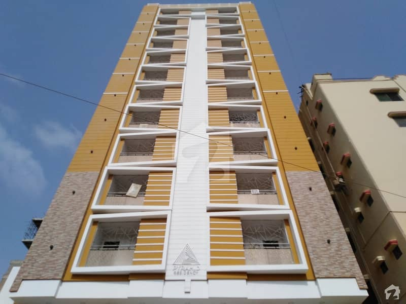 Brand New Pyramid Residency Flat For Sale In Clifton Block 1