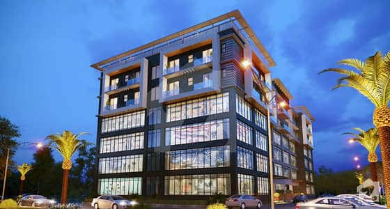 Khudadad City Airport Enclave  Flat Is Available For Sale