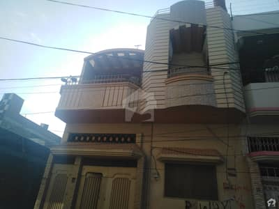 120 Sq Yard Ground + 2 Floors House Available For Sale
