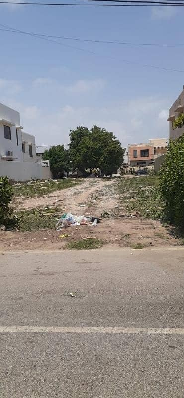 Defence Phase 6, 500 Sq Yard 33 Street Plot For Sale Off Khy Muhafiz