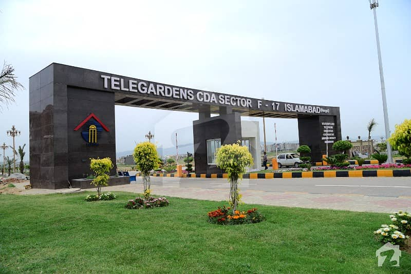 ٹیلی گارڈن (ٹی اینڈ ٹی ای سی ایچ ایس) ایف ۔ 17 اسلام آباد میں 1 کنال رہائشی پلاٹ 78 لاکھ میں برائے فروخت۔