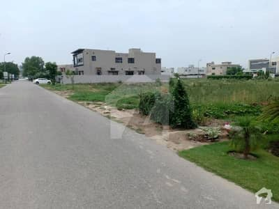 X Block 1 Kanal Plot For Sale Phase 3 DHA Lahore