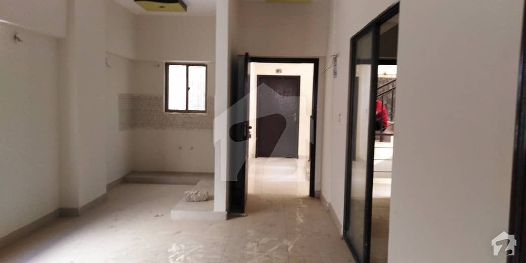 Corner 4th Floor Flat Is Available For Sale