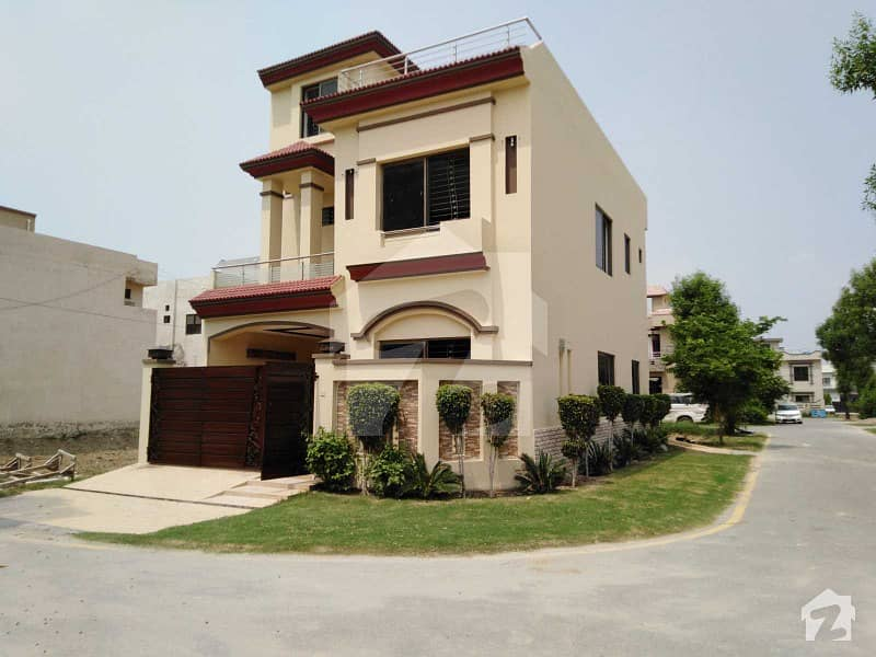5 Marla Brand New House Is Available For Sale In Park View Villas Topaz Block