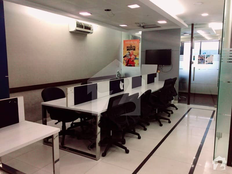 Office For Rent Fully Furnished 3 Chambers