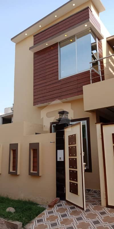 5 Marla Double Storey Brand New Luxury House For Rent At Gated Location