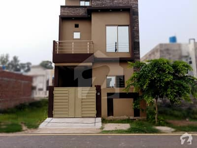 3 Marla Brand New House For Sale In Tulip Block Of Al Jalil Garden Lahore