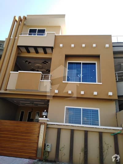 7 Marla Beautiful Double Storey House Is Available For Sale In Soan Garden G Block Islamabad
