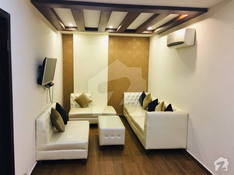 One Bed Furnished Apartment For Rent In Sector C Bahria Town Lahore