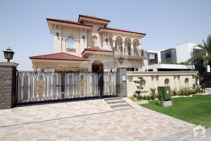 Dha Lahore Phase 6 One Kanal Brand New Main   Back Ideal Location Designer House