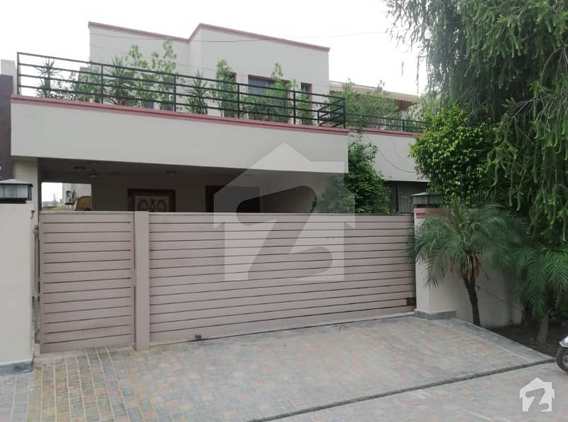 20 Marla Beautiful Semi Furnished House Available For Rent In Dha Phase 4