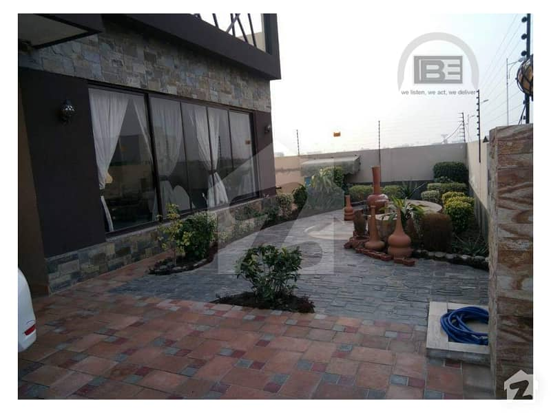 Fully Furnished 1 Kanal Brand New House Available In DHA Phase 7 S Block