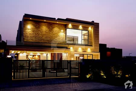 Leads Estate Offer 1Kanal Brand New Royal Bungalow Out Class Modern and Luxury For Sale In Dha Phase Vi Lahore