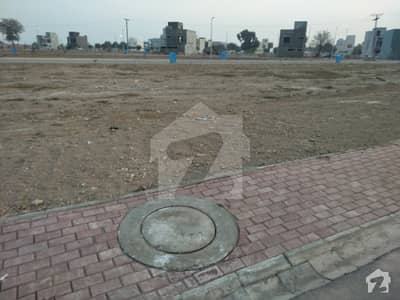 5 Marla Corner Glorious Location  2 Side Open Commercial Plot For Sale In Sector _C Bahria Town Lahore  On Main Boulevard 210 Ft Road