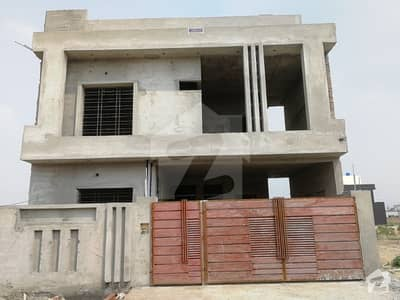 10 Marla House With Basement Grey Structure For Sale