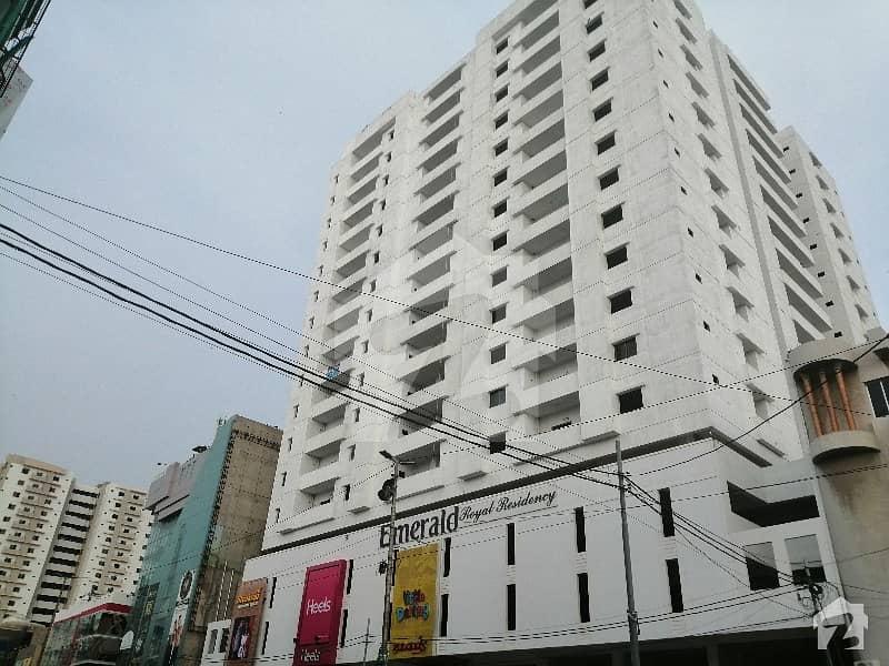 Emerald Residency Flats Is Up For Sale Opposite Dollmen Mall Tariq Road