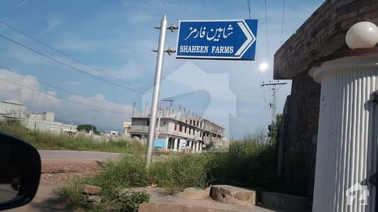 9.5 Marla Plot For Sale Shaeen Farms Bara Kahu Islamabad