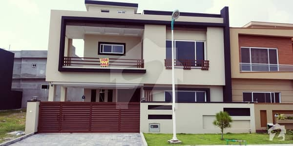 Overseas 3 Size 10 Marla Beautiful Luxury House Is Available For Sale With Front Open View