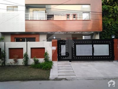 10 Marla Brand New House For Sale In Sher Shah Block Of Garden Town Lahore