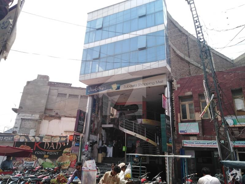 192 Square Feet Corner Shop For Sale In Zubaida Shopping Mall Goal Chowk