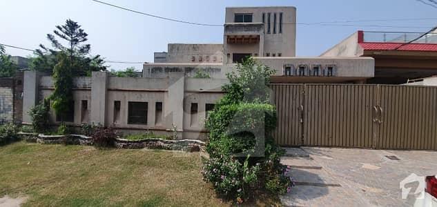 Park Facing  Marghzar Officers Colony Block G   1 Kanal House For Sale