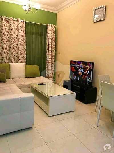 1 Bed Fully Furnished Flat For Rent At Sector C Bahria Town Lahore