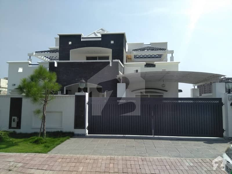Kinal house with extra land available for sale in bahria town phase 8