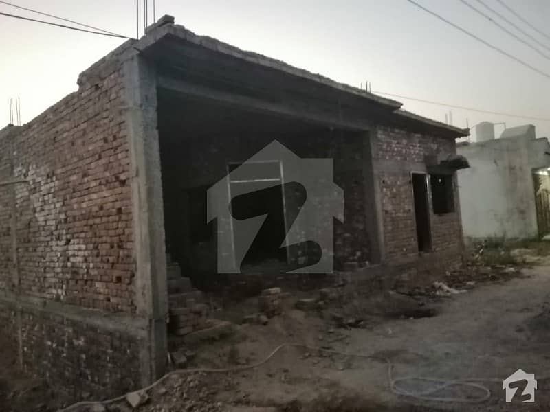5 Marla Structure House For  Sale