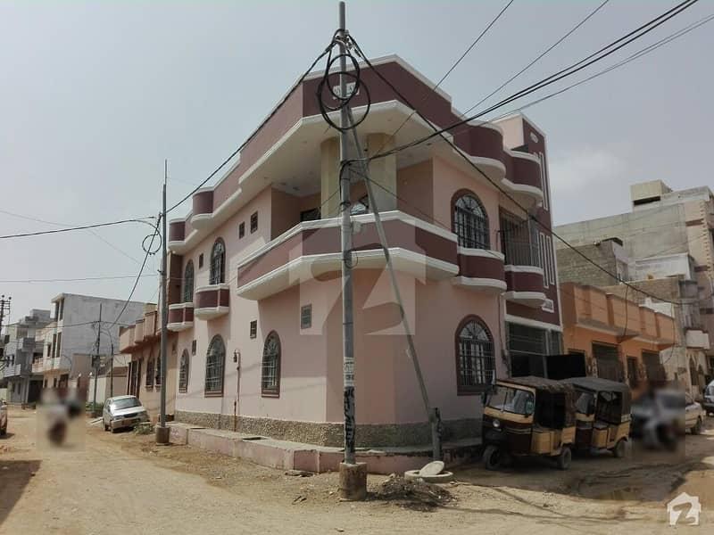 گلستانِِ جوہر ۔ بلاک 9 گلستانِ جوہر کراچی میں 4 کمروں کا 6 مرلہ مکان 1.8 کروڑ میں برائے فروخت۔