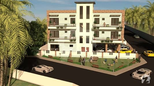 First Floor Apartment Is Available For Sale In Green Apartments