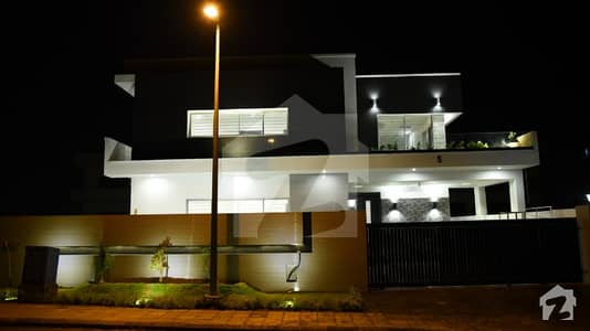 1 Kanal Outstanding Location Brand New Double Storey House Available For Sale In Dha Phase 5 Islamabad