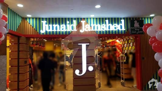Junaid Jamshed ShopIn Fortress Stadium Cantt Lahore Pakistan  EarnRs 770000Monthly Rental Income By InvestingRs 13 Core