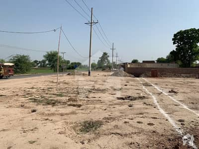 9 Kanal Land For Sale On Main Sahiwal Gogera Road With Boundary Wall