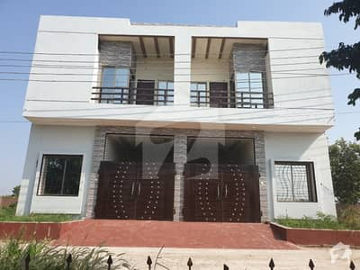 Double Storey Semi Furnished House For Sale In New Canal Garden